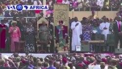 Perezida Geoge Weah Yarahiriye Kuyobora Liberiya