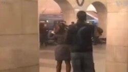 Explosion à Saint-Pétersbourg (vidéo)