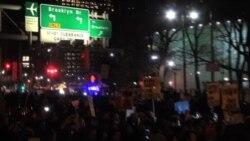 Protestas se intensifican en Nueva York