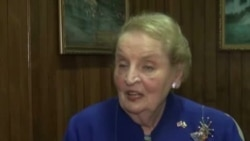 Madeleine Albright နဲ႔ VOA သီးသန္႔ေမးျမန္းခန္း