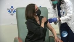 Новообрана віце-президентка США Камала Гарріс публічно вакцинувалася від COVID-19. Відео