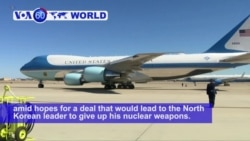 VOA60 World PM - Trump Heads to Hanoi for Second Summit With Kim