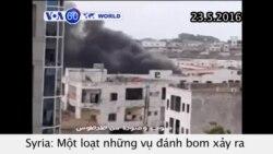 Đánh bom hàng loạt tại hai thành phố ven biển Syria (VOA60)