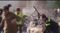 2014-02-19 美國之音視頻新聞: 穆斯林激進組織在貝魯特引爆自殺炸彈