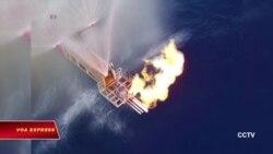 Trung Quốc thăm dò 'băng cháy' tại Biển Đông