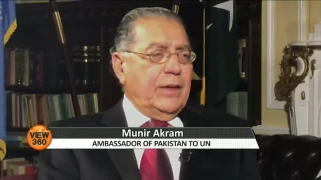 پاکستان خطے میں ایک اور جنگ نہیں چاہتا، منیر اکرم