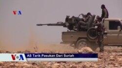 Sapa Dunia VOA: AS Akan Tarik Pasukan dari Suriah