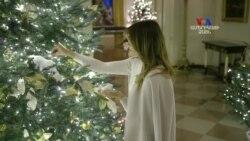 Մելանյա Թրամփը ներկայացրել է սուրբծննդյան զարդարանքները՝ «Ամերիկայի ոգին» թեմայով