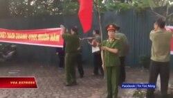 Truyền hình VOA 13/11/19: Công an biểu tình đòi 'quyền lợi nhà đất'