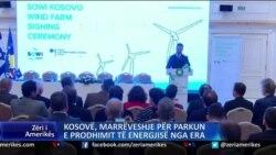 Kosovë, marrëveshje për prodhimin e energjisë nga era