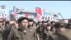 朝鲜火箭部队奉命做好袭击美国的准备