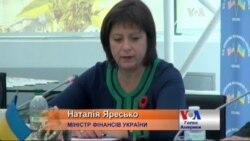 Наталія Яресько переконує іноземців інвестувати в Україну. Відео.