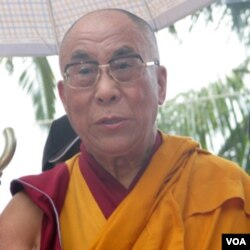 El Dalai Lama en Taiwán. Foto de archivo.