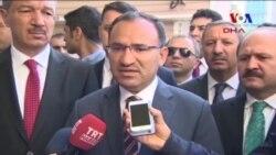 Adalet Bakanı Bozdağ Suriye'deki Kimyasal Saldırı İle İlgili Konuştu