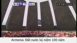 Kỷ niệm 100 năm vụ thảm sát người Armenia (VOA60)
