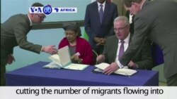 VOA60 Africa - The European Union hails Niger for cutting the number of migrants flowing into Europe