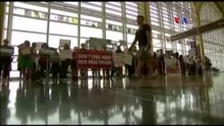 ԱՄՆ-ում բողոքում են Օբամաքեըրի մասին սենատորների ներկայացրած նախագծի դեմ