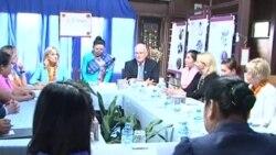 Dr. Jill Biden visit Laos day 1 (Lao National Television)