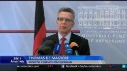Ministri i Brendshëm gjerman në Tiranë