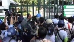 泰国选民勇敢投票,暴力时有发生