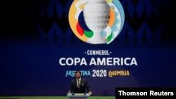 FILE PHOTO: Copa America Argentina-Colombia 2020 Draw