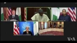 Sakataren harkokin wajen Amurka Tony Blinken ya gana ta yanar gizo da Shugaban Najeriya Muhammadu Buhari