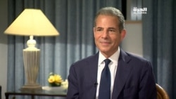Alhurra interviews Rick Stengel about Sawab Center