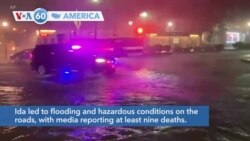 VOA60 Ameerikaa - At Least 9 Killed Following Flooding in New York City, Newark, New Jersey