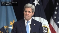 Kerry Comments at National Defense University