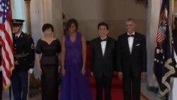 US Japan Abe Visit