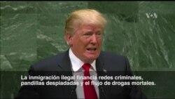 Trump habla sobre inmigración ilegal ante la ONU