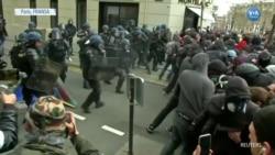 Sarı Yelekliler 18'inci Eylemde Paris'i Savaş Alanına Çevirdi
