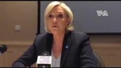 Conférence de Marine le Pen lors de sa visite au Tchad (vidéo)