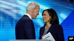 Abademokrate Joe Biden na Kamala Harris