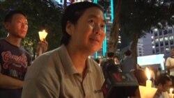 港人要求释放刘晓波 回归周年庆祝蒙阴影