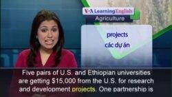 Anh ngữ đặc biệt: US Africa Food Security (VOA)