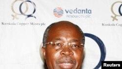 FILE - Zambia's Minister of Finance Situmbeko Musokotwane.