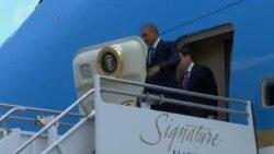 Претседателот Обама пристигна во Орландо за да изрази сочувство и утеха во името на американскиот народ
