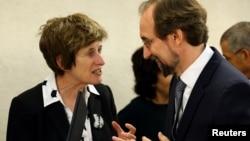 Заместитель Верховного комиссара ООН по правам человека Кейт Гилмор (архивное фото)