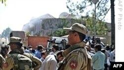 انفجار بمب انتحاری در دفتر برنامه جهانی غذای سازمان ملل متحد در پايتخت پاکستان