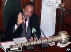 آغاز سراج درانی پیپلز پارٹی کے اہم رہنما اور 2013 سے سندھ اسمبلی کے اسپیکر ہیں — فائل فوٹو