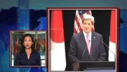 VOA连线: 克里抵日本 美日2+2部长级会议登场