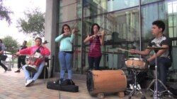 At SXSW, Paraguayan Children Make Music From Trash