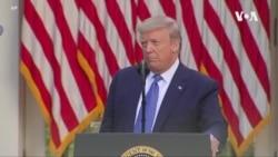 特朗普警告將動用軍隊平息暴力