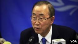 ທ່ານ Ban Ki-moon ເລຂາທິການໃຫຍ່ ອົງການສະຫະປະຊາຊາດ