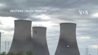 Hạ tháp giải nhiệt làm mất điện cả ngàn hộ dân