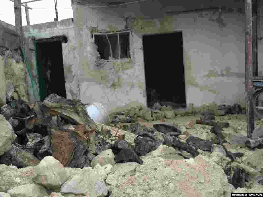 Dîmenên Bombebarana Tirkiyê Bo Ser Efrînê