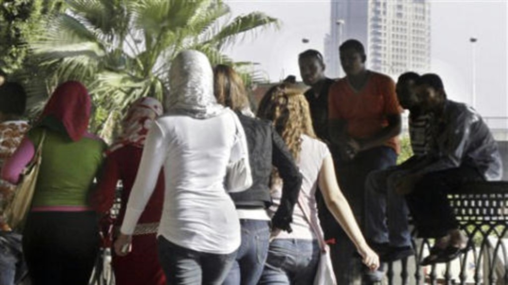 Group sexual harassment egypt