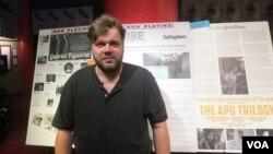 Мирослав Слабошпицкий в Нью-Йорке