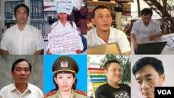 Delapan dari seluruhnya 48 penulis yang mendapatkan penghargaan dari Human Rights Watch untuk tahun 2011 ini.